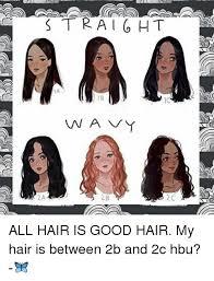 2a hair straight 1a wavy 2a 2b 2c all hair is good hair my hair is between