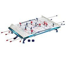 rod hockey table reviews amazon com franklin sports rod hockey pro air hockey equipment