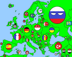 Map Of Eurpoe Image Map Of Europe In Countryballs Png Thefutureofeuropes