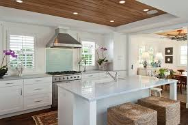 tropical kitchen tropical kitchen with one wall flat panel cabinets in naples fl