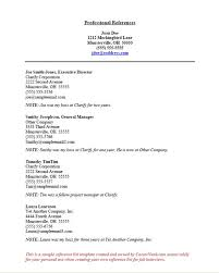 Sample Reference Resume by Sample Resume Get Something On Paper And Bring It By Our Office