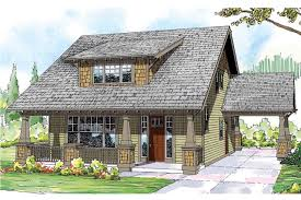 Craftsman Cabin House Plans With Detached Garage Associated Designs