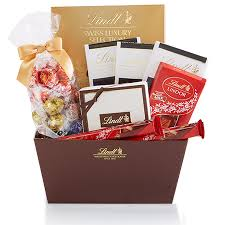 chocolate gift basket chocolate gift baskets towers assorted chocolate gifts lindtusa