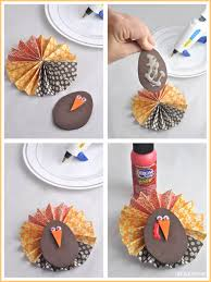 foam turkey craft thanksgiving paper flower jar gift idea club chica circle