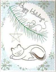 sewing cards templates free paper stitching cards patterns snowman postage stamp paper