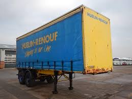 25ft tandem axle curtainside trailer cs862 walker movements