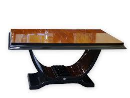 Esszimmertisch Walnuss Ausziehbar Art Deco Tisch Rund Carprola For