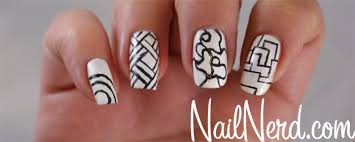 nail nerd nail art for nerds how to do color blocked nails