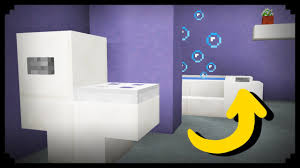 minecraft bathroom ideas minecraft how to make a working bathroom