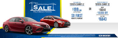toyota deals now toyota new u0026 used car dealer serving greenacres lake worth