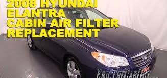 hyundai elantra air filter 2008 hyundai elantra cabin air filter replacement archives