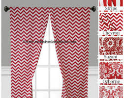 Pink Chevron Curtains Black And White Curtain Panels Chevron Curtains Drapery Window