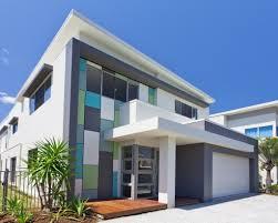 blue color houses home design ideas