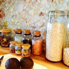 Kitchen Backsplash Ideas Designs And Pictures HGTV - Seashell backsplash
