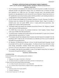 technical specs spv pumpsets photovoltaics photovoltaic system