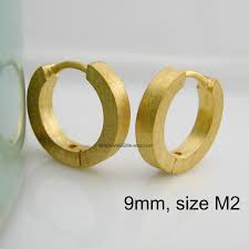 mens earrings mens earrings gold huggie hoops slim hoop earrings