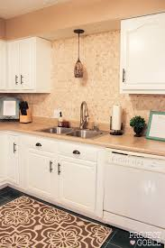 Rustoleum Kitchen Cabinet Kitchen Transformation White Cabinets U0026 Painted Counters With