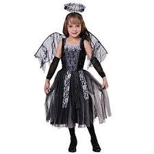 Angel Halloween Costumes Totally Ghoul Girls U0027 Dark Silver Angel Halloween Costume