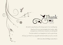 wedding wishes letter wedding invitation thank you letter best 25 wedding thank you