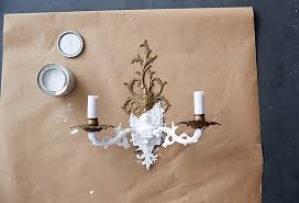 Diy Wall Sconce Painted Sconce Diy
