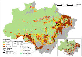 Amazon Maps Is Brazil Now In Control Of Deforestation In The Amazon