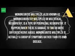 Multiplex Definition What Causes Mononeuritis Multiplex Youtube