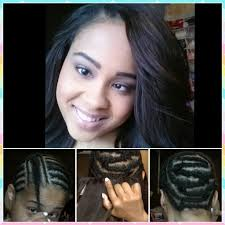 invisible part for thin hair long hair sew in weave hairstyle sew in weave for invisible part