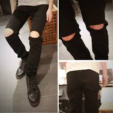 Mens Destroyed Skinny Jeans Online Buy Wholesale White Ripped Jeans Men From China White