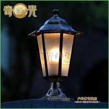 Outdoor Lighting Posts - lighting outdoor lights for wooden posts outdoor solar lights