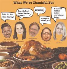 time for thanksgiving dinner what we u0027re thankful for rhode island monthly