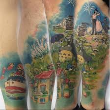 the awesomest studio ghibli tattoos ever pressroomvip part 2