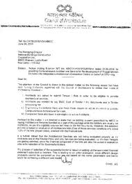 Council Of Architecture Professional Practice Pdf Registrar Council Of Architecture To The Managing Director