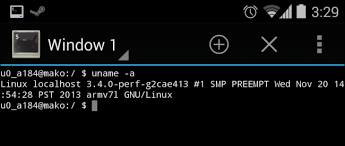 android shell commands android is based on linux but what does that