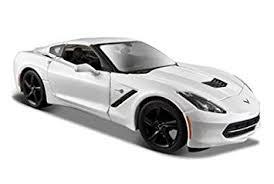 white c7 corvette amazon com 2014 chevrolet corvette c7 stingray white 1 24 by