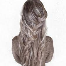 silver brown hair 52 gorgeous balayage hair color styling ideas hair motive hair