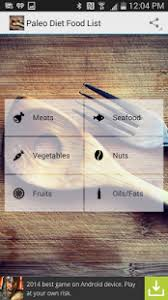 paleo diet food list android apps on google play