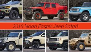 moab jeep concept jeep reveals seven concepts for 2015 moab easter jeep safari news