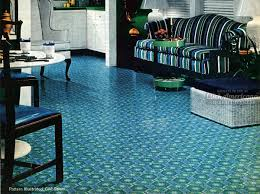 get with these groovy vinyl floors from the 70s click