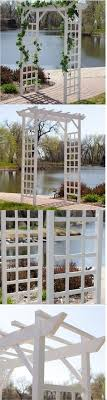 wedding arches on ebay arbors and arches 180993 wood garden arbor 7 ft trellis wedding
