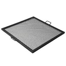 fire pit cooking grate 36 cooking grill grate steel mesh x marks square fire pit camp