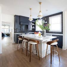 blue kitchen island and white cabinets blue cabinets with white island design ideas