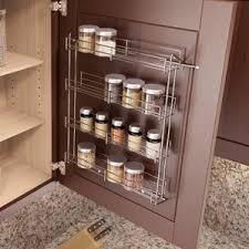 Rustic Spice Rack Kitchen Shelf Cabinet Made From Best Home Wall Mounted Spice Jars U0026 Spice Racks You U0027ll Love Wayfair