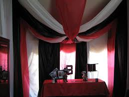 Black And Red Party Decorations Interior Design New Black White Themed Party Decorations Home