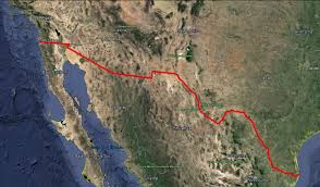 Texas Mexico Border Map by Image Gallery U2014 Building The Border Wall U2014 An International