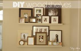 Cheap Shelves For Wall by Lily U0026 Bliss Diy Wood Shelves