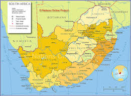 map of province political map of south africa provinces nations project