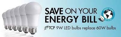 tcp 40w equivalent led light non dimmable soft white 2700k