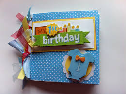 baby boy photo album babys birthday scrapbook album baby boy birthday