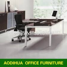Glass Desk Office Furniture Glass Executive Desk Glass Executive Desk Suppliers And