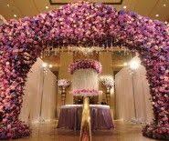 Wedding Arch Nyc Floral Pink Wedding Chuppah Or Gazebo Chuppah Floral Flowers